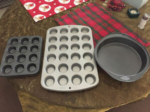 Bakeware for cookies, all 3 for $ 10