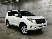 2014 Toyota Landcruiser Prado KDJ150R MY14 GXL White 5 Speed Sports Automatic Wagon Mile End South West Torrens Area Preview