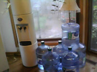 WATER COOLER - In Great Condition!!! And With Water Jugs!