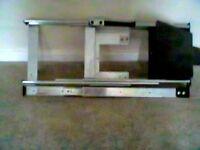 TV fold away cupboard bracket