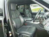 Land Rover Range Rover Sport SDV6 HSE DYNAMIC (black) 2014