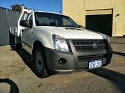 2008 Holden Rodeo RA MY08 LX White 5 Speed Manual Cab Chassis Malaga Swan Area Preview