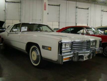 Cadillac 1978 2 door coupe Eldorado Barritze