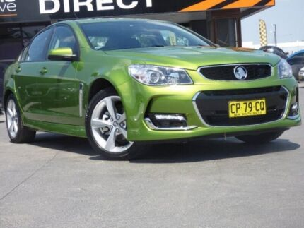 2016 Holden Commodore VF II MY16 SV6 Green 6 Speed Sports Automatic Sedan Smeaton Grange Camden Area Preview