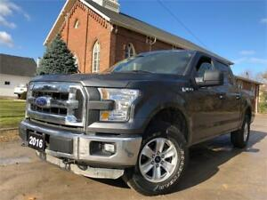 2016 Ford F-150 XLT - 4X4 -CERTIFIED - LIKE NEW!!!