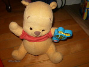 winnie the pooh (musical et bouge)