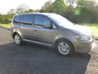 2012 VW TOURAN 1.6 TDI SE 7 SEATER FULL SERVICE HISTORY IMMACULATE THROUGHOUT