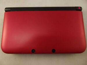 *****NINTENDO 3DS XL ROUGE DANS LA BOITE A VENDRE / RED NINTENDO 3DS XL IN THE BOX FOR SALE*****
