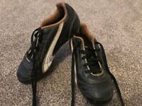Boys Puma size 12 football boots