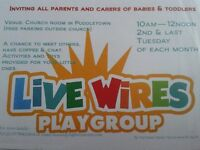 Live Wires Playgroup!! Come join us!