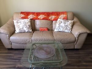 Make and offer: Great Sofa, 100% Leather, Pet- and Smoke-free