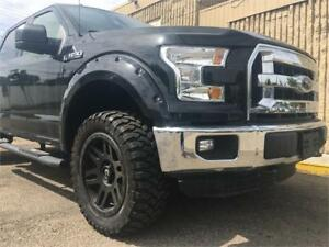 2016 F-150//LIFTED//FENDERS//FUEL RIMS//LEATHER//HEATED SEATS