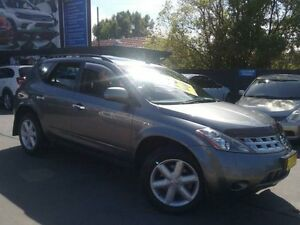2006 Nissan Murano Z50 TI Grey Continuous Variable Wagon Greenacre Bankstown Area Preview