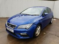 SEAT LEON FR 2019 BREAKING SPARES AIRBAG LEATHER SEATS ALLOY DOORS AXLE HUBS CORNERS
