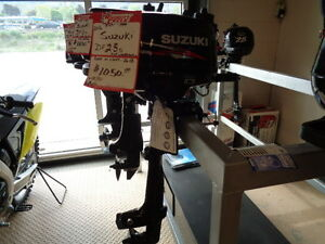 SUZUKI 2.5 OUTBOARD W/ 6 YEAR WARRANTY NEW
