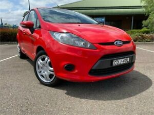 2011 Ford Fiesta WT CL PwrShift Red 6 Speed Sports Automatic Dual Clutch Hatchback