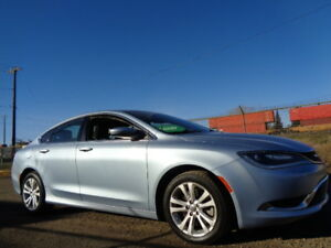 2015 CHRYSLER 200 LIMITED-HEATED SEAT-REMOTE STARTER-B/CAMERA