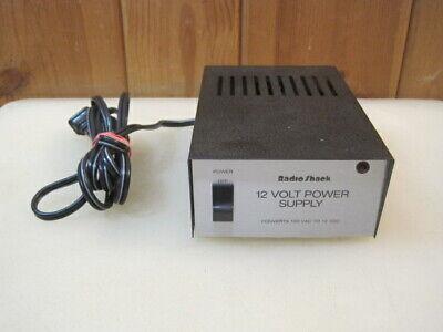 Radio Shack Regulated 12 Volt Power Supply Cat No 22-127e B4283