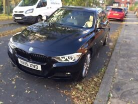 2015 (15reg) BMW 320D M Sport X Driver in metallic black for sale.