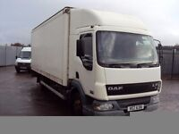 DAF LF45 - 150 20ft BOX TAIL- LIFT