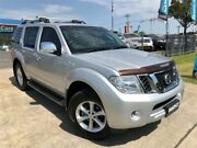 2012 Nissan Pathfinder R51 MY10 ST-L Silver Manual Wagon Mulgrave Hawkesbury Area Preview