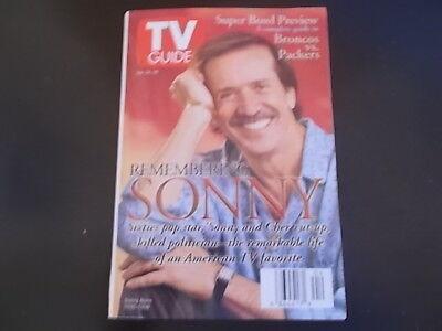 Sonny Bono - TV Guide Magazine 1998