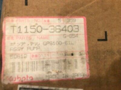 Kubota T1150-36403hydrualic Pump