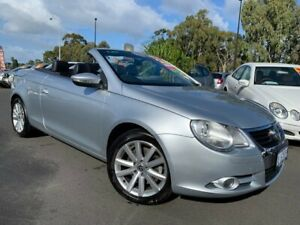 2010 Volkswagen EOS 1F MY09 147TSI DSG Silver 6 Speed Sports Automatic Dual Clutch Convertible East Bunbury Bunbury Area Preview