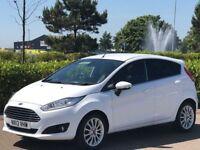 FORD FIESTA 1.0 TITANIUM X 5d 124 BHP (white) 2013