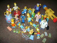 VINTAGE COLLECTABLE SIMPSONS TOYS
