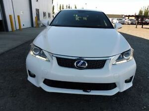 Lady Driven 2013 Lexus CT 200h with 7 years lexus warranty