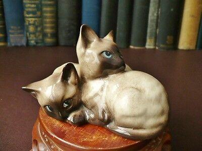Vintage Beswick Siamese Cats - Beswick Siamese Kittens - Vintage Beswick