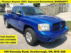 2007 Dodge Dakota ST FINANCE 100% APPROVED WARRANTY 126,059 KM