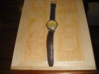 VINTAGE 1948 OMEGA DENNISON MODEL12308 AUTOMATIC 9ct GOLD CASE