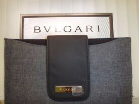 Bvlgari iPad & Tablet Case Grey Designer Cover Brand New. Limited Edition. Brand New