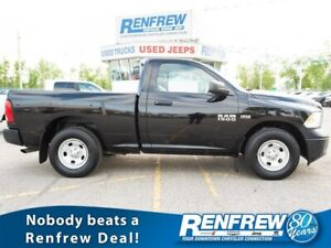 2015 Ram 1500 2WD Reg Cab ST, RENFREW CASH FOR CLUNKERS UP TO $2