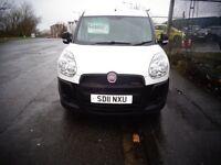 2011 Fiat Doblo White Panel Van 1.3 Diesel MOT'd April Great Condition £2995