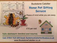 Buckstone Pet Sitter