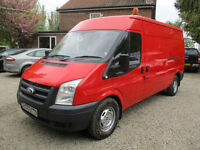 Ford Transit 2.4TDCi,100PS,2009 REG 350 LWB,1 OWNER,138,000 miles CHOICE OF 2