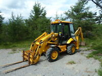 JCB 212 Backhoe & Attachements