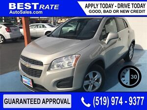 CHEVY TRAX LT - APPROVED IN 30 MINUTES! ANY CREDIT LOANS