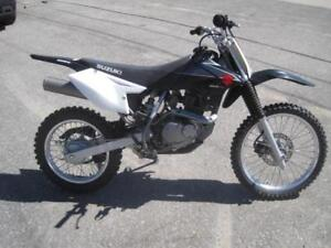 Preowned 2009 Suzuki DR-Z 125 Dirt Bike with low hours/Clean