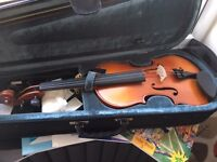 Violin and books for sale