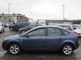 FORD FOCUS 1.6 Zetec 5dr [115] [Climate Pack] (blue) 2005