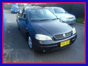 2002 Holden Astra TS CD Black 4 Speed Automatic Hatchback Villawood Bankstown Area Preview