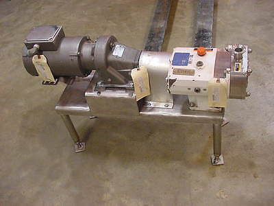 Alfa Laval Ghpd Positive Displacement Rotary Lobe Pump Sru-2