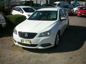 2013 Holden Commodore VF Evoke White 6 Speed Automatic Sportswagon Heatherbrae Port Stephens Area Preview
