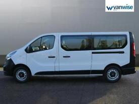 2015 Vauxhall Vivaro COMBI CDTI LWB LR 9 SEATER Diesel white Manual