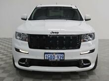 2013 Jeep Grand Cherokee WK MY13 SRT 8 Alpine Bright White 5 Speed Automatic Wagon Jandakot Cockburn Area Preview