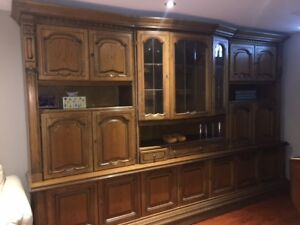 Solid Wood Large wall unit